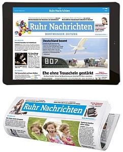 Kombi Abo : eZeitung + gedruckte Ruhr Nachrichten