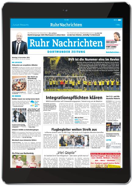 eZeitung der Ruhr Nachrichten Abo